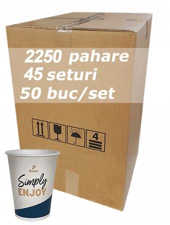 Pahar carton 7oz Tchibo bax 2250buc [1]