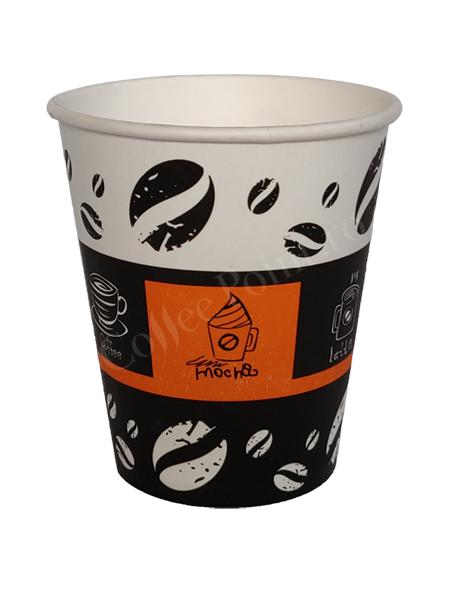 Pahar carton 8oz Coffee AYE 50buc [0]