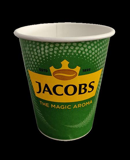 Pahar carton 8oz Jacobs 50buc [0]