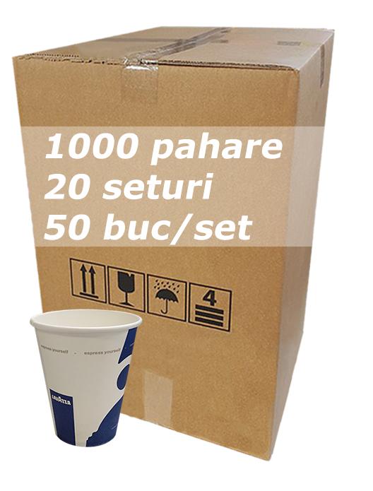Pahar carton 8oz Lavazza City bax 1000buc [0]
