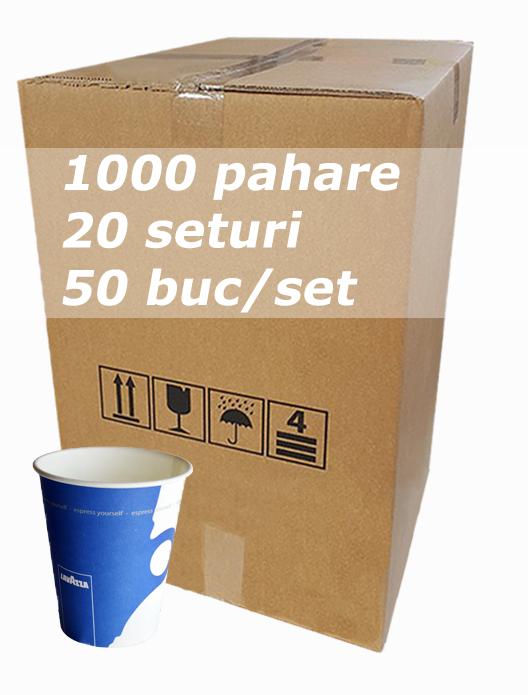 Pahar carton 8oz Lavazza JND bax 1000buc [0]