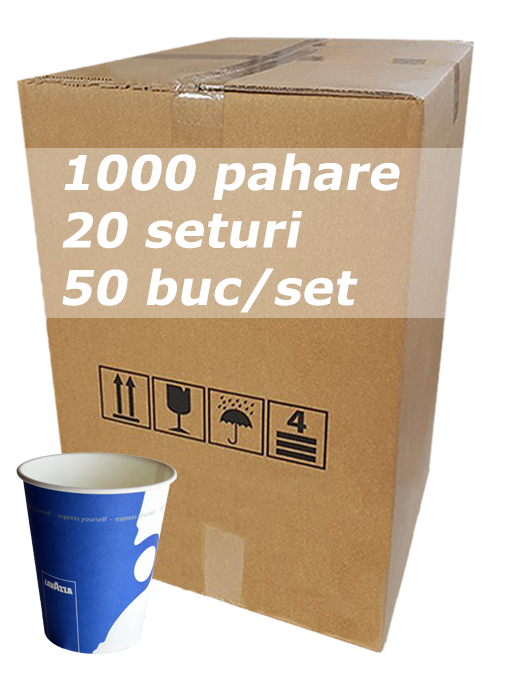Pahar carton 8oz Lavazza SIBA bax 1000buc [0]
