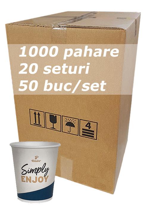 Pahar carton 8oz Tchibo bax 1000buc [1]
