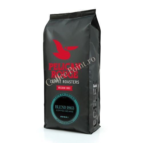 Pelican Rouge Blend 1863 cafea boabe 1kg [0]