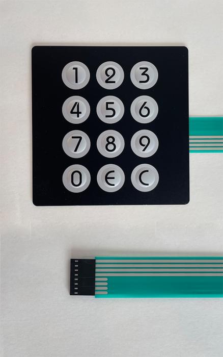 Folie Tastatura numerica Necta Kikko RY Rondo [0]
