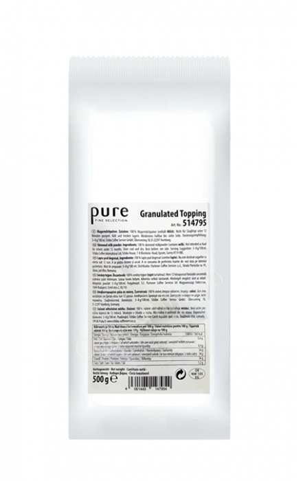 Tchibo Pure Granulated Topping 100% lapte granulat 500g [0]