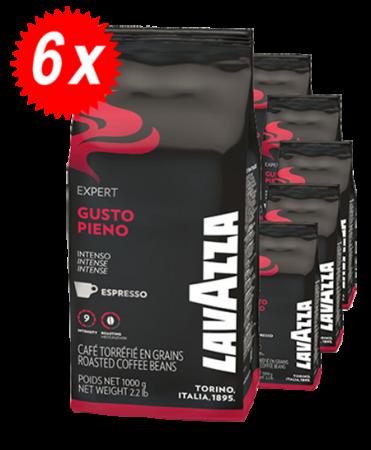 Pachet 6kg Cafea Boabe Lavazza Gusto Pieno
