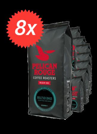 Pachet 8kg Cafea Boabe Pelican Rouge Blend 1863