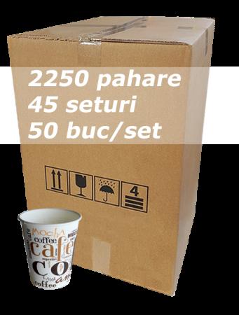 Pahar carton 6oz Coffee Coffee SIBA bax 2250buc