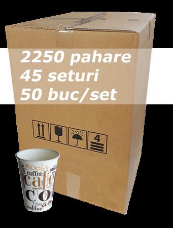 Pahar carton 7oz Coffee Coffee SIBA bax 2250buc