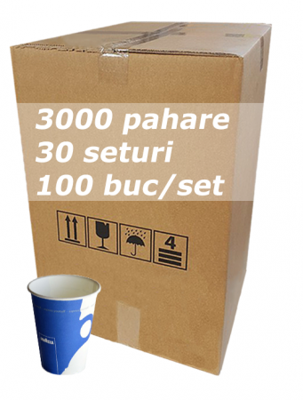 Pahar carton 7oz Lavazza RLP bax 3000buc