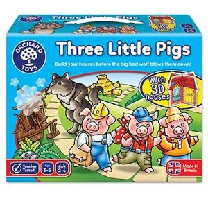 The three little piggies - Joc de familie 0