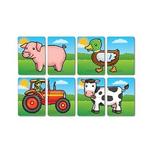 Farmyard heads & tails - Joc educativ asociere 2