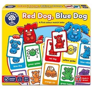 Red dog Blue dog - Joc educativ loto 0