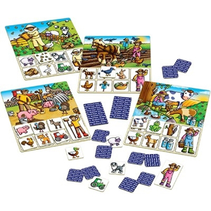 Loto OLD MACDONALD - Joc educativ 1