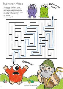 Carte de colorat cu activitati in limba engleza si abtibilduri Lucruri de Facut THINGS TO DO 2