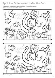 Carte de colorat cu activitati in limba engleza si abtibilduri Lucruri de Facut THINGS TO DO 1