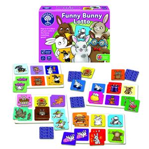 Funny bunny lotto - Joc educativ 1