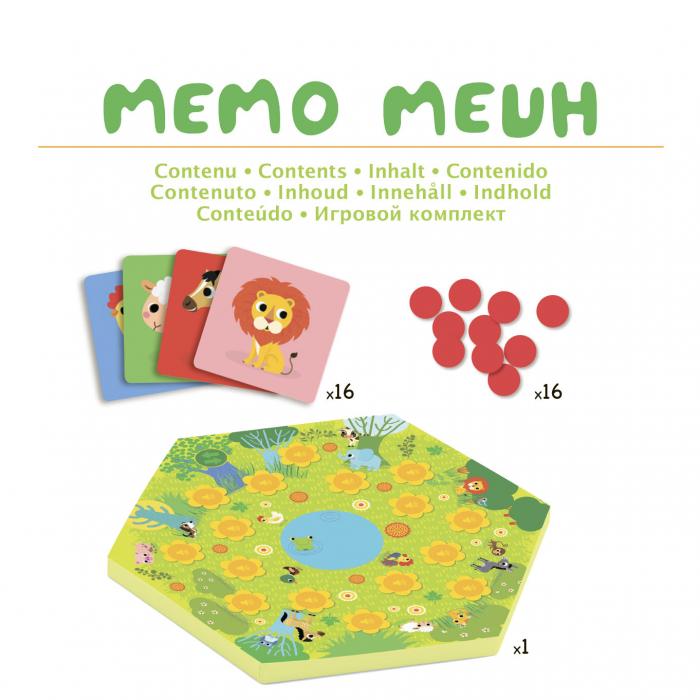 Joc cu sunete Memo Meuh 2