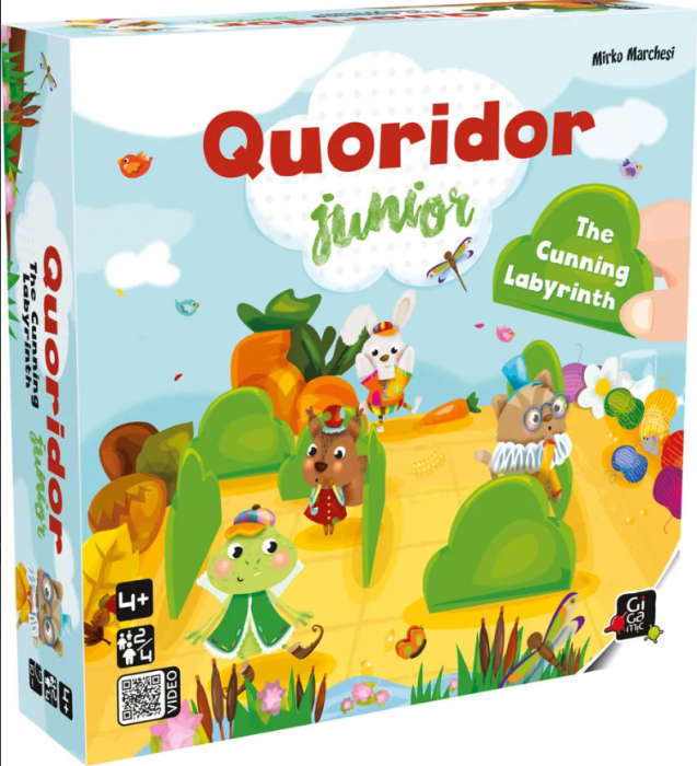 QUORIDOR JUNIOR - Joc de strategie 0
