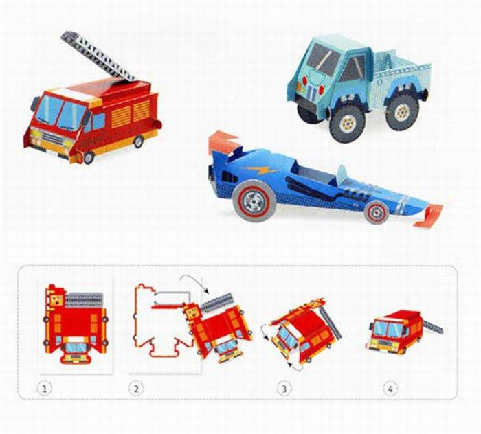 Atelier origami Vehicule 2