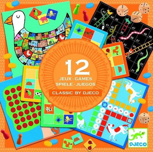 Colecție 12 jocuri clasice de familie 0