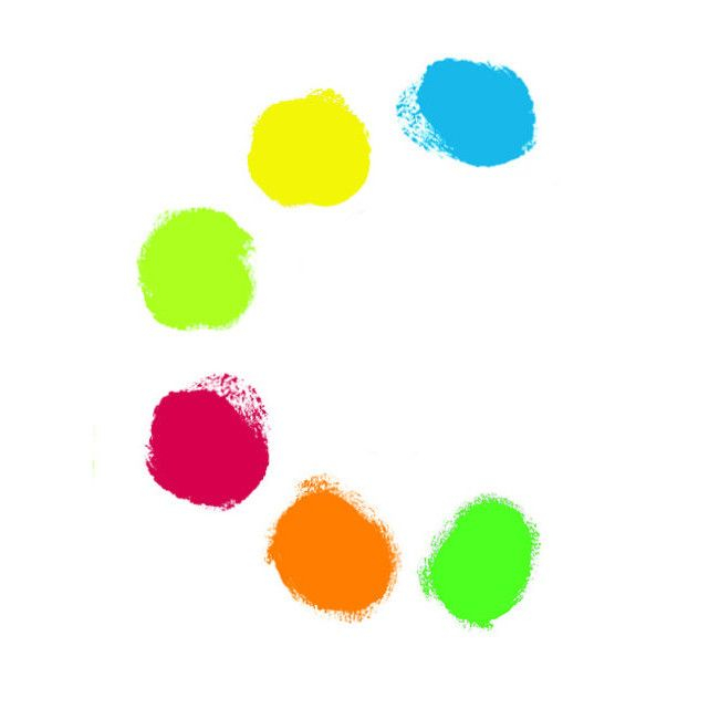 6 culori de pictat cu mana 1