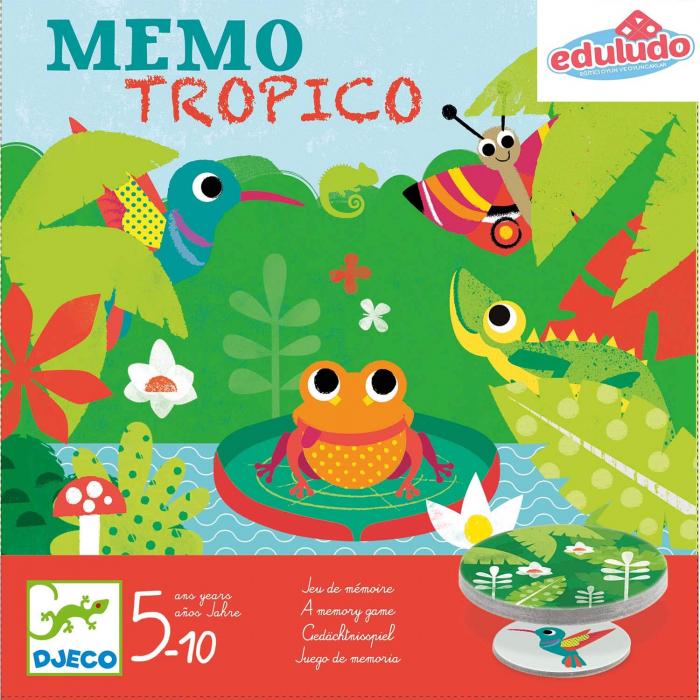 Memo Tropico - Joc de memorie 0