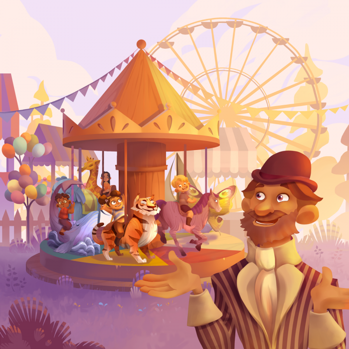 Monsieur Carrousel - Joc de cooperare [3]