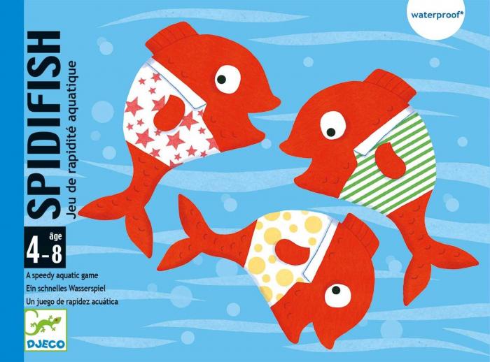 Spidifish - Joc cu carti rezistente la apa 0