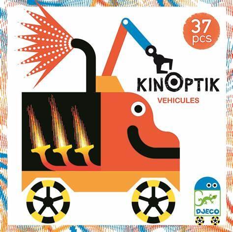 Kinoptik Vehicule - Joc educativ 0