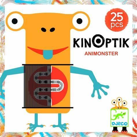 Kinoptik Animonsters - Joc educativ 0
