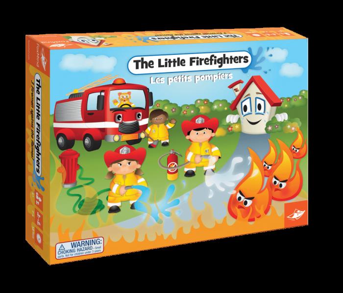 THE LITTLE FIREFIGHTERS - Joc de cooperare 0