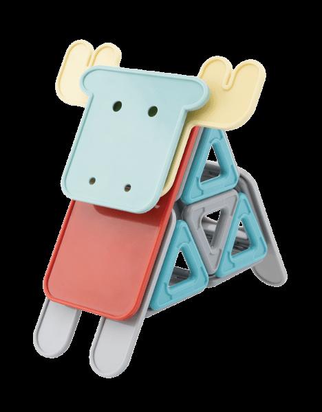 Animale - set magnetic de construit 2