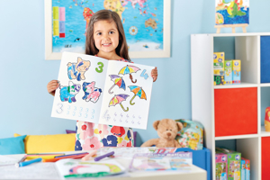 Carte de colorat cu activitati in limba engleza si abtibilduri 1 - 20 4