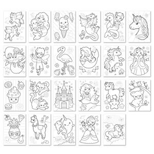 Carte de colorat cu activitati in limba engleza si abtibilduri Unicorni, Sirene si Altele UNICORNS, MERMAIDS AND MORE [1]