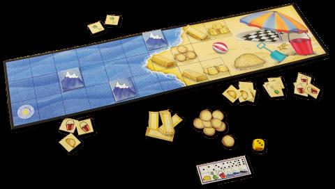 Joc de cooperare Castele De Nisip 1