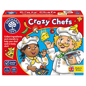 Crazy chefs - Joc educativ 0
