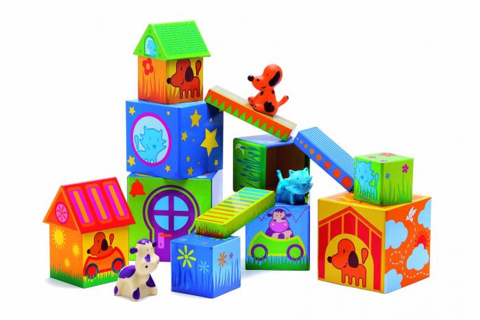 Cuburi de construit cu animale Cubanimo [1]