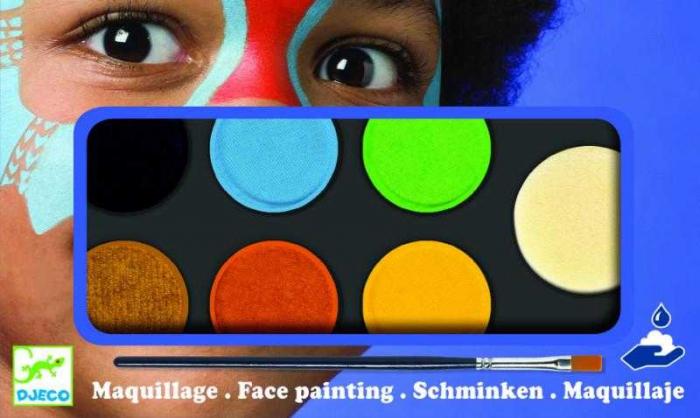 Culori make-up non alergice Natur 0
