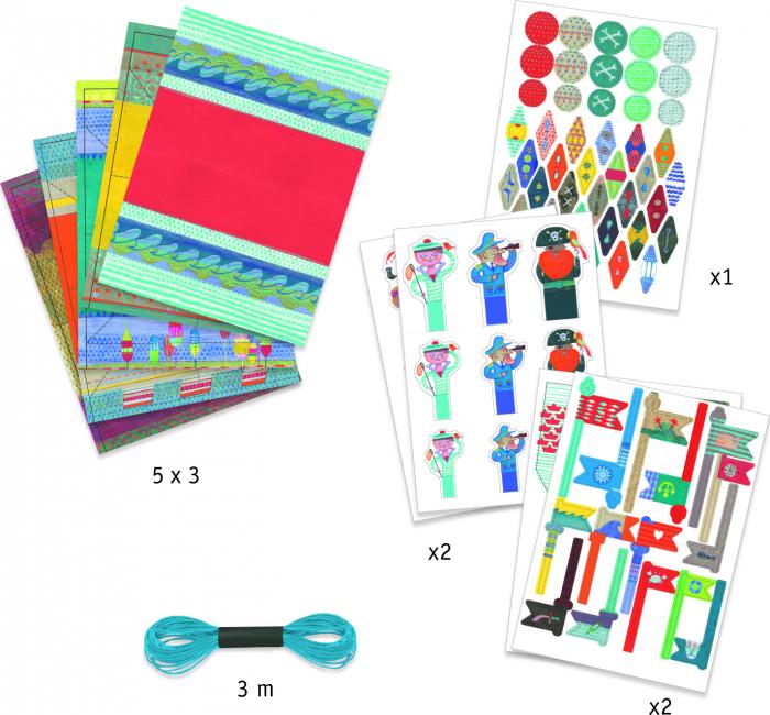 Atelier origami Construim barcute 1