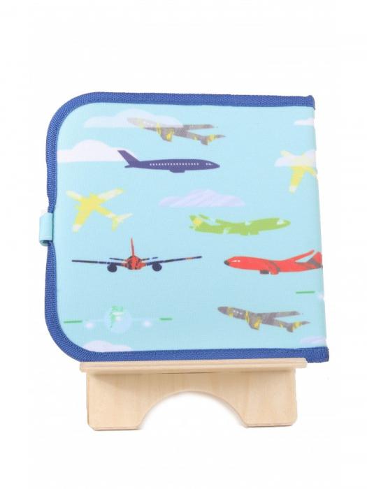 Doodle It & Go erasable book - aeroplane - Carte refolosibilă pentru desen 2