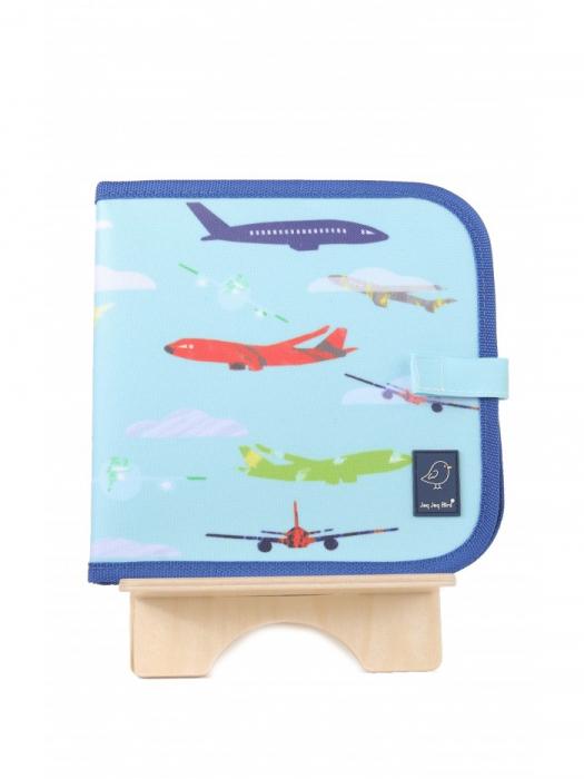 Doodle It & Go erasable book - aeroplane - Carte refolosibilă pentru desen 0
