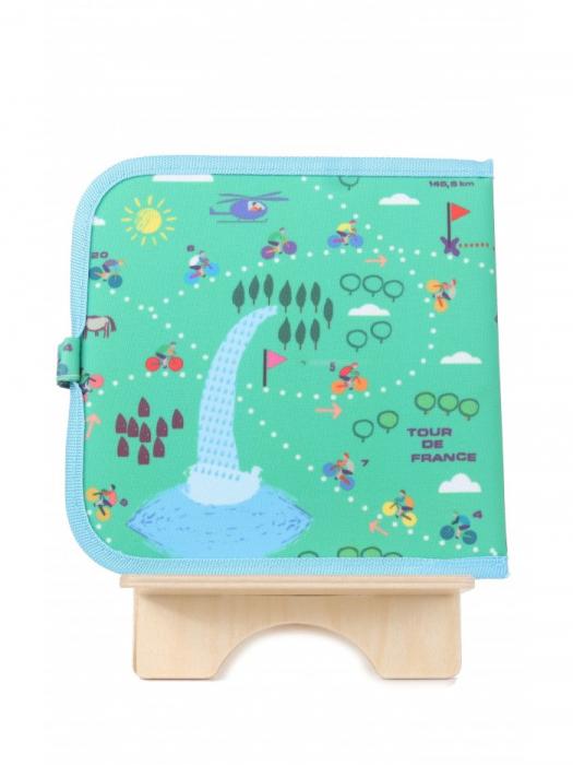 Doodle It & Go erasable book - bicycle - Carte refolosibilă pentru desen 1