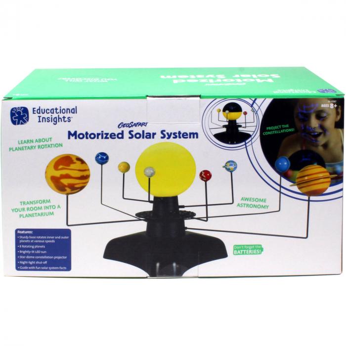 Sistem solar motorizat 1