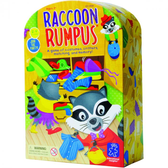 Raccoon Rumpus - Taraboiul ratonului 0