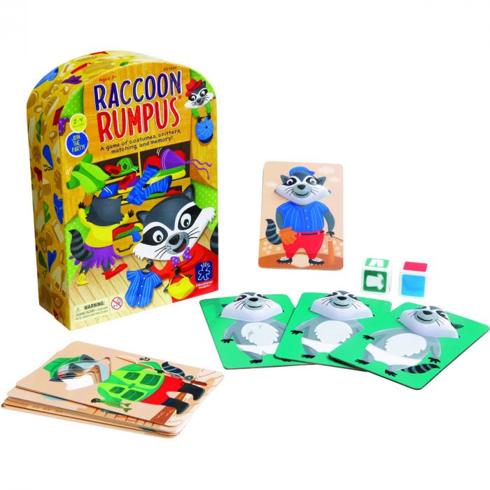 Raccoon Rumpus - Taraboiul ratonului 1