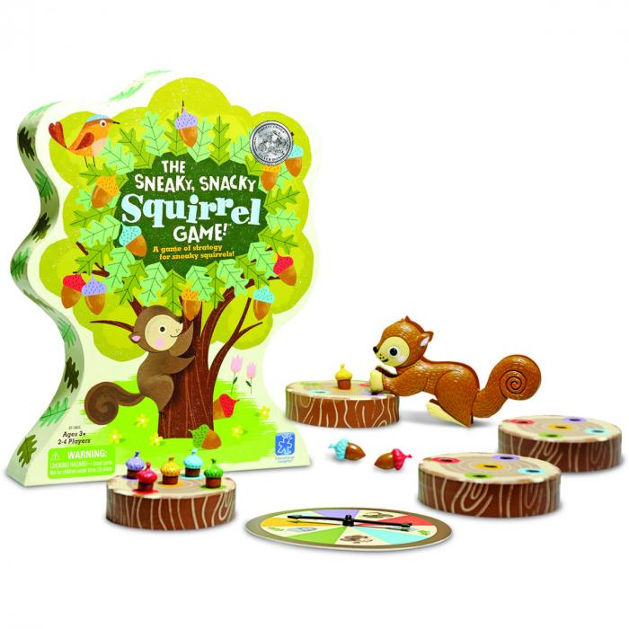 Sneaky snacky squirrel - joc de familie 0