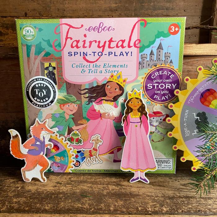 Fairytale Spinner Game - Joc educativ cu ruleta pentru dezvoltarea vocabularului si a limbajului 1