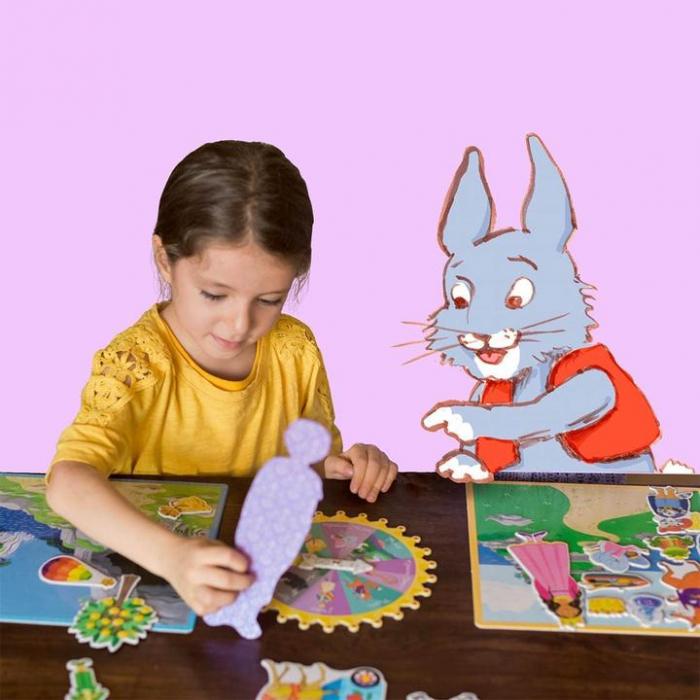 Fairytale Spinner Game - Joc educativ cu ruleta pentru dezvoltarea vocabularului si a limbajului 3